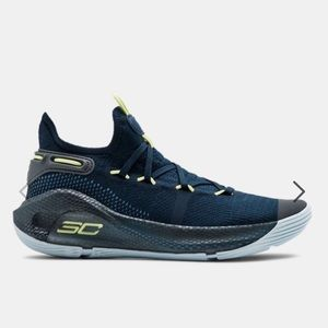 Boys grade school size 6.0 under armour curry 6